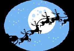 SantaSilhouette