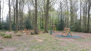 New playground in The Glade