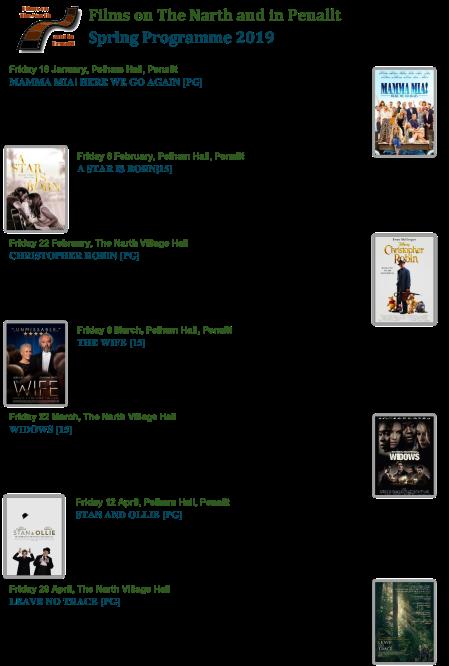 Spring 2019 Film List UPDATED